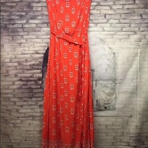 Old Navy Strapless Maxi Dress Size S